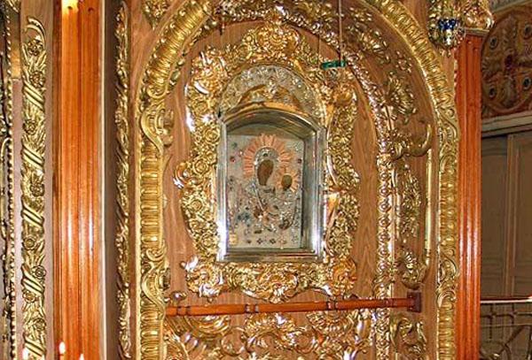 Грузинская икона Богородицы, Раифский монастырь Казани