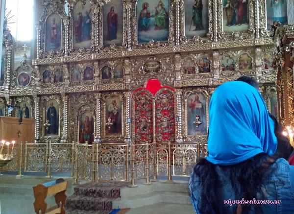 Иконостас Грузинского собора, Казанский Раифский монастырь