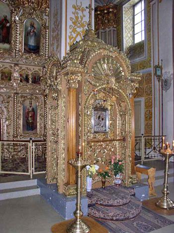 Чудотворная Грузинская икона Богородицы в Раифском монастыре Казани