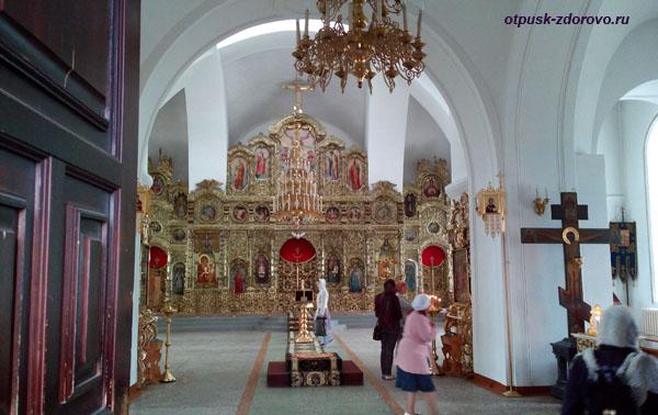Внутри Троицкого собора, Раифский монастырь, Казань