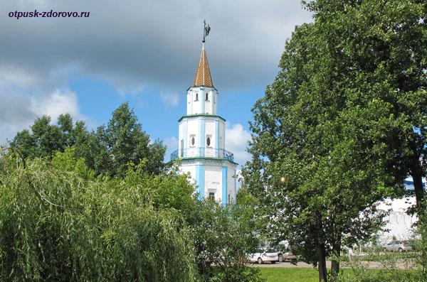 Башня Раифского монастыря в Казани