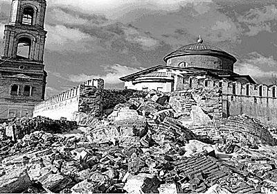 Разруха в Раифском монастыре в 20 веке