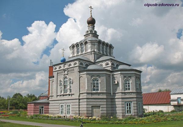 Церковь святых Евфимия Великого и Тихона Задонского, Семиозерский монастырь, Казань