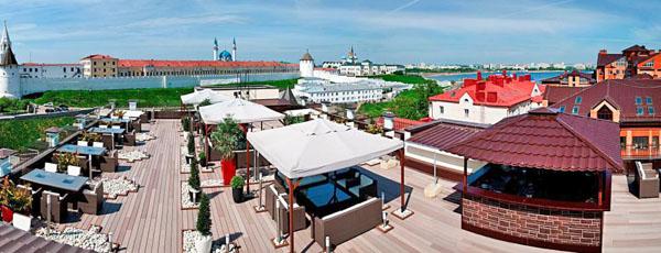 Терраса итальянского кафе Roof Terrace (TheTerrace), Казань