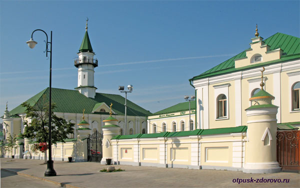 Дом и мечеть Марджани в Старо-Татарской слободе, Казань