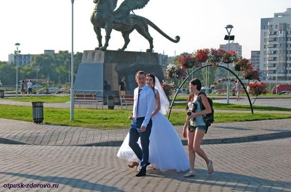 Казанские молодожены