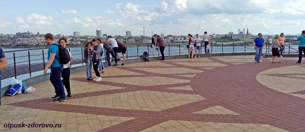 Смотровая площадка, Центр семьи Казани