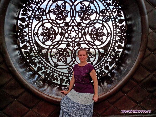 Круглые окна Центра семьи Казан в Казани