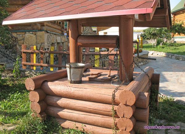 Колодец деревянный, Туган Авылым, Казань