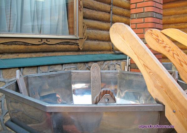 Баня и банные принадлежности на территории Туган Авылым, Казань