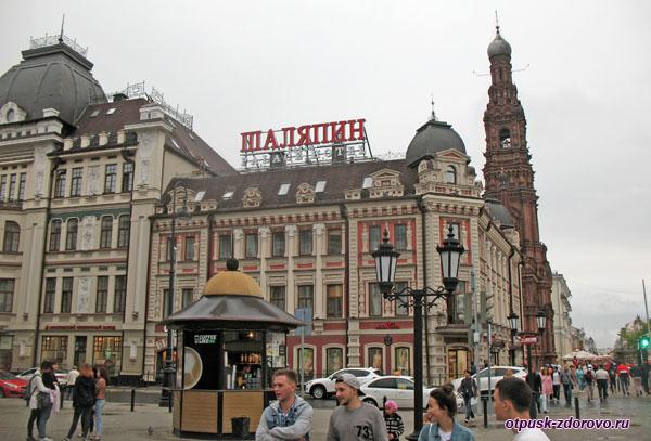 Гостиница Шаляпин Палас Отель на улице Баумана в Казани
