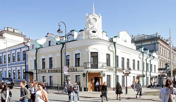 Аптека Бренинга на улице Баумана, Казань