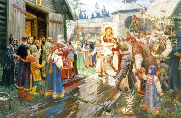 Чудеса Казанской иконы Богородицы