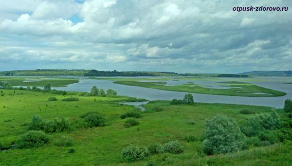 Заливные луга под Казанью