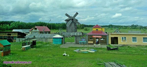 Татарская деревня, достопримечательность недалеко от Свияжска
