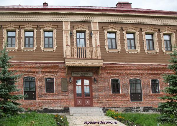 Дом-усадьба купца Каменева на острове Свияжск