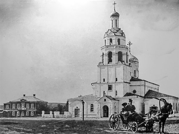 Рождественский собор Свияжска, фото 19 века