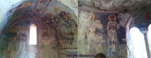 Фрески в церкви святого Николая Чудотворца в Демре, Турция