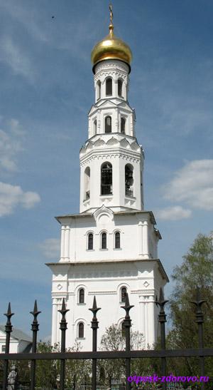 Храмовый комплекс в Завидово, колокольня