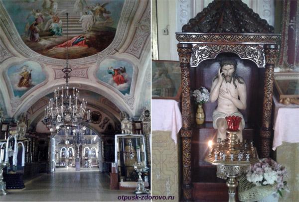 Успенская церковь в селе Завидово, внутри