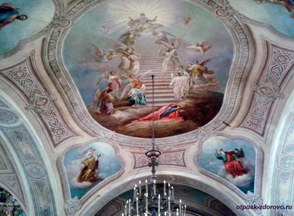 Успенская церковь в селе Завидово, росписи
