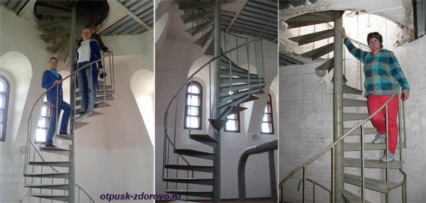 Лестница на колокольню, Храмовый комплекс в Завидово