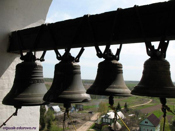Колокола на колокольне, Храмовый комплекс в Завидово