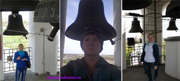 На колокольне, Храмовый комплекс в Завидово