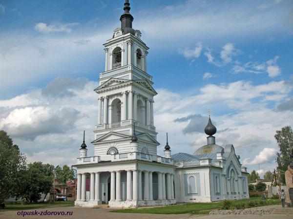 Вознесенская церковь, достопримечательности Калязина, Тверская область