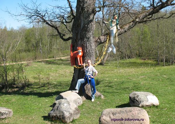 Лукоморье, Ольгин Хутор в Вороново, Тверская область, между Селигером и истоком Волги