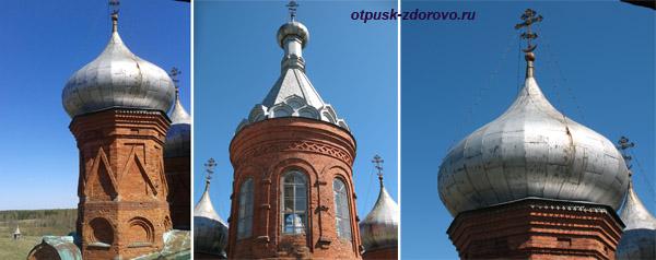 На колокольне храма Преображения Господня, Ольгин монастырь в Волговерховье Тверской области