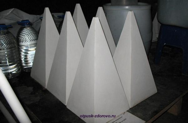Макет пирамиды Александра Голода, можно купить