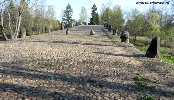 Чертов мост под Торжком в Тверской области