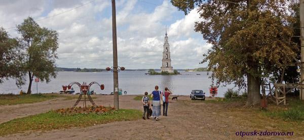 Калязинская колокольня, Калязин, Тверская область