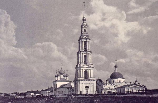 Никольский собор до затопления, Калязин, Тверская область