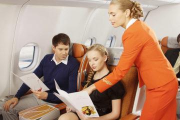 Питание на борту Аэрофлота