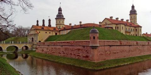 Замок Радзивиллов в Несвиже