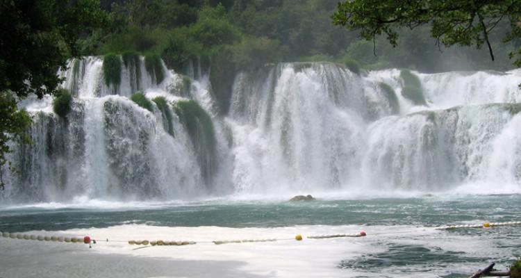 Национальный парк Крка, Хорватия. Водопады