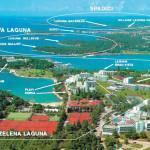 Отель Plavi, Зеленая Лагуна (Пореч, Хорватия) и его окрестности
