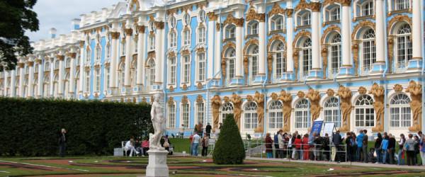 Екатерининский Дворец в Царском Селе (город Пушкин)