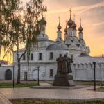 Монастырь Петра и Февронии, где находятся мощи святых