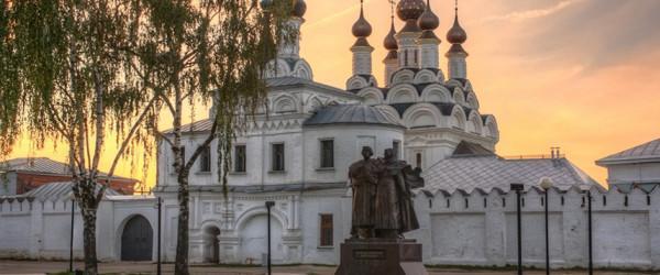 Свято-Троицкий монастырь, Муром. Мощи Петра и Февронии