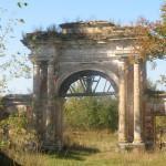 Усадьба Дашковой и церковь в селе Троицкое у Протвы