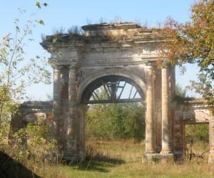 Усадьба Дашковой и церковь в селе Троицкое