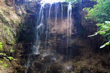 Калужская Ниагара - самый большой водопад на карте области