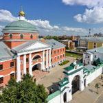 Богородицкий мужской монастырь в Казани, где находится Казанская икона