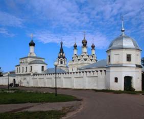 Благовещенский монастырь в Муроме. Князья Константин, Михаил и Феодор муромские
