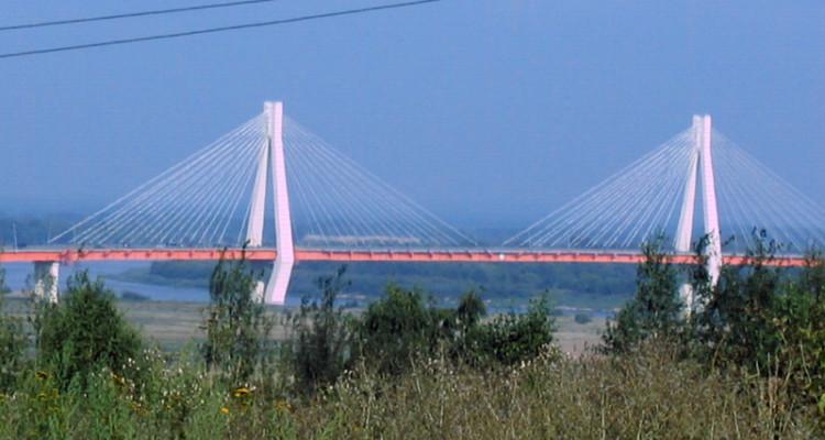 Мост через оку в Муроме и Святое озеро в Дедово