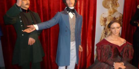 Музей восковых фигур в Петербурге в Петропавловской крепости