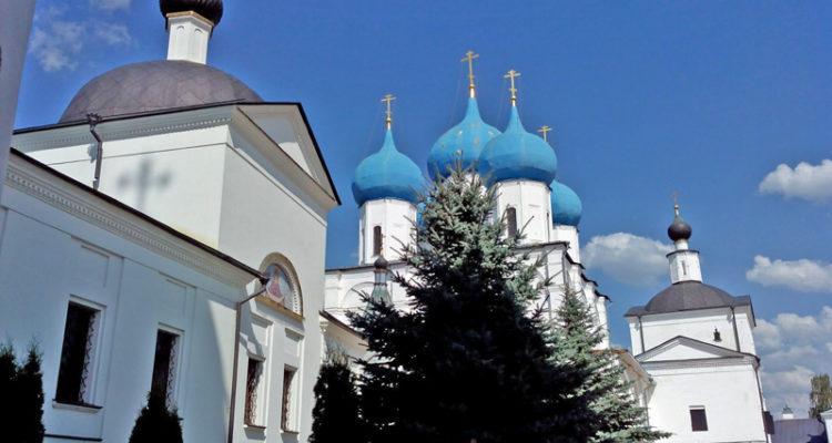 """Высоцкий монастырь, Серпухов. К иконе """"Неупиваемая Чаша"""""""